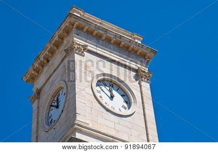 Clocktower. Barletta. Puglia. Italy.