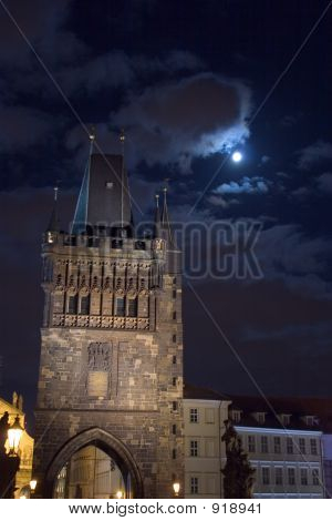 Tower In The Moonlight