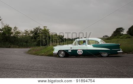 old car OLDSMOBILE 88 5300 cc 1955 mille miglia 2015