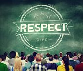 picture of integrity  - Respect Honesty Honorable Regard Integrity Concept - JPG