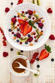 image of fruit bowl  - Breakfast bowl - JPG