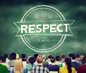 pic of respect  - Respect Honesty Honorable Regard Integrity Concept - JPG