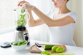 stock photo of blender  - healthy eating - JPG