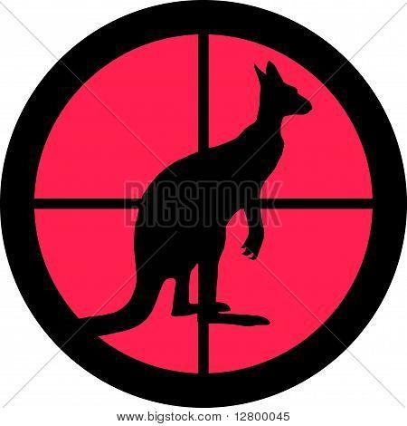 In The Scope Series - Kangaroo