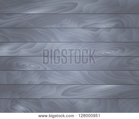 Vector wood texture. Background gray panels. Grunge retro vintage wooden texture, vector background. Horizontal stripes.