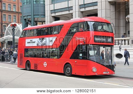 New Routemaster, London