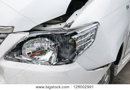 Car accident vehicle destroyed, accident, auto, body, broken,