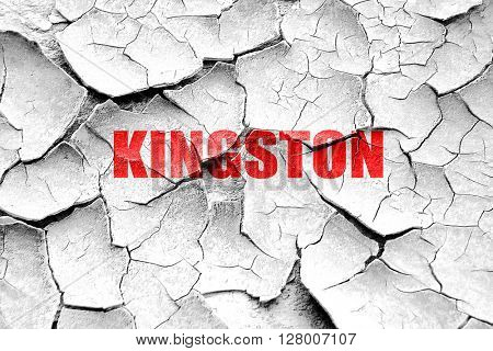 Grunge cracked kingston