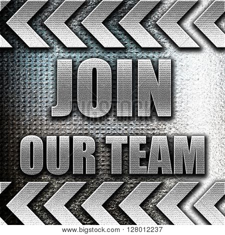 Join our team sign