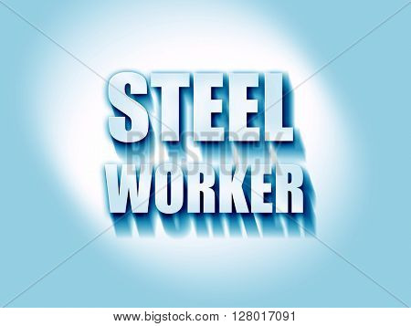 Steel background with smooth lines