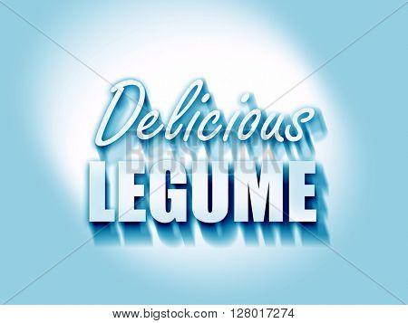 Delicious legume sign