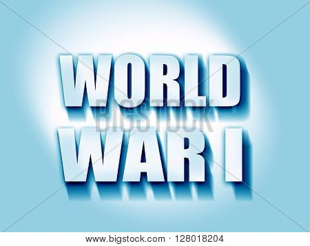 World war 1 background