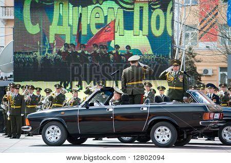 Commanders At Parade