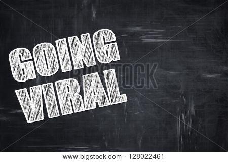 Chalkboard writing: going viral