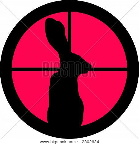 In the Scope Series - Rabbit