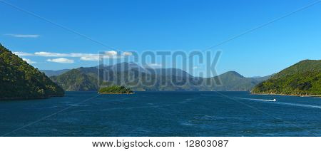 Queen Charlotte Sound New Zealand