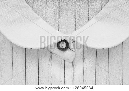 White blouse collar closeup as a background