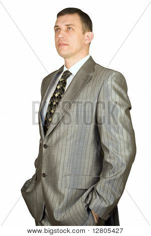 Portrait Of The  Businessman
