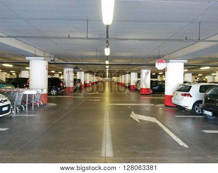 Multi-storey Car Parking Interiors