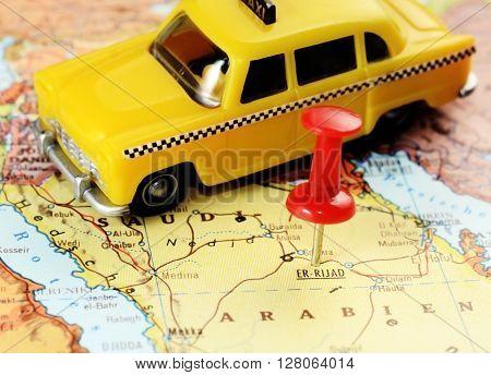 Er Riyadh,saudi Arabia   Map Taxi