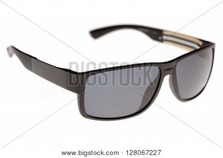 photo of sunglasses isolated on white background