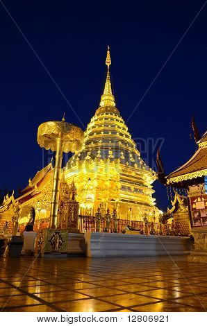 Phra That Doi Suthep, Chiang Mai, Thailand.