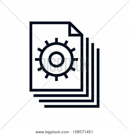 Content Management, Gears Icon
