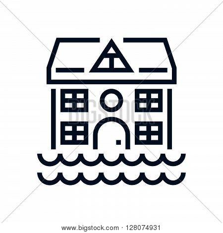 Flood, House Icon