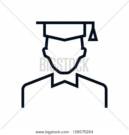 Graduation Hat, Student Icon