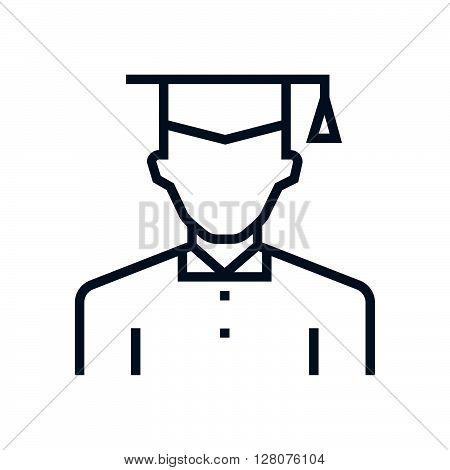 Graduate, Student Avatar Icon