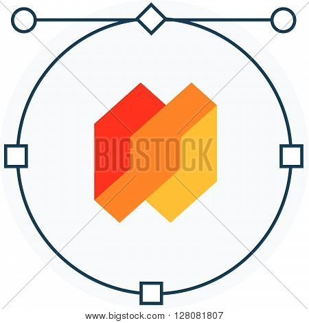 Skill, Craft Flat Style, Colorful, Vector Icon