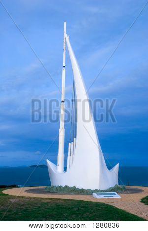 Singing Ship Monument