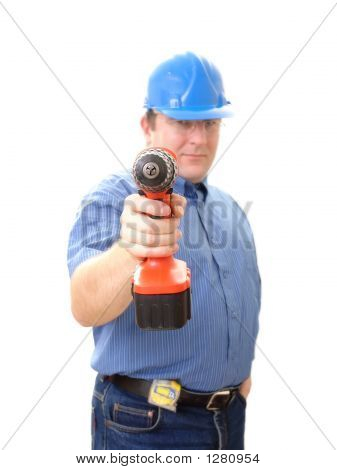 Civil Engineer With Driller