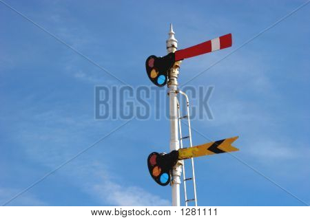 Old Train Signals