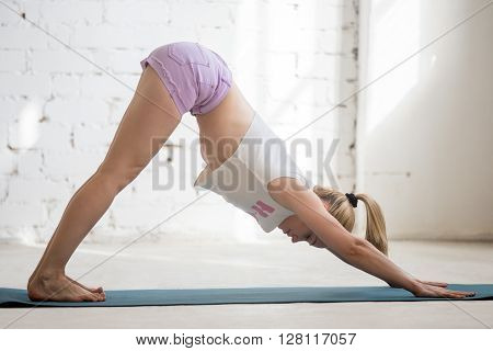Yogi Woman Enjoying Practice
