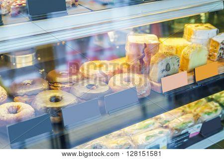 Various baked donuts