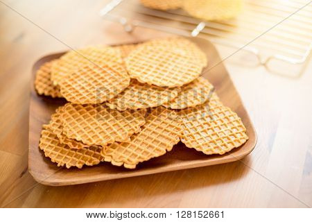 Italian homemade Pizzelle