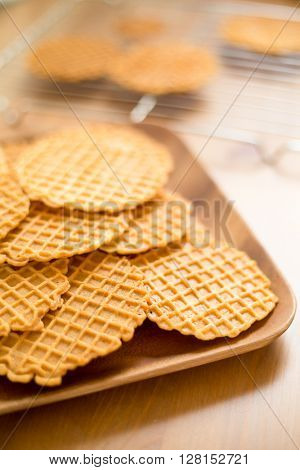 Crispy Pizzelle cookie