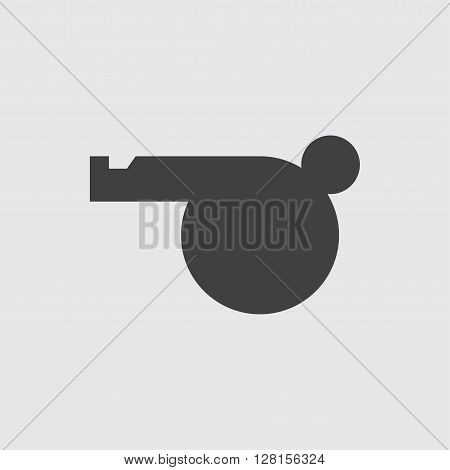 Whistle icon illustration isolated vector sign symbol