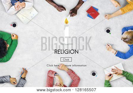 Religion Faith Believe God Hope Spirituality Pray Concept
