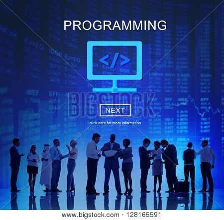 Programming Software Code Application Technology Concept