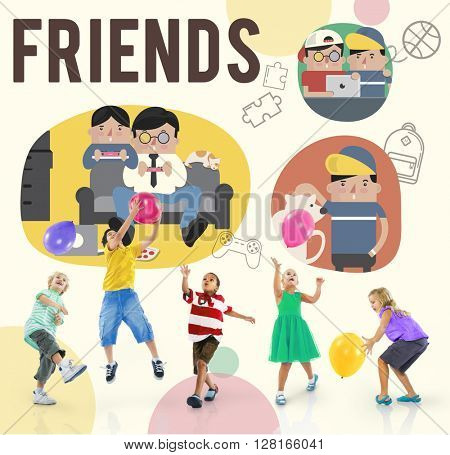 Friends Friendship Activity Leisure Concept