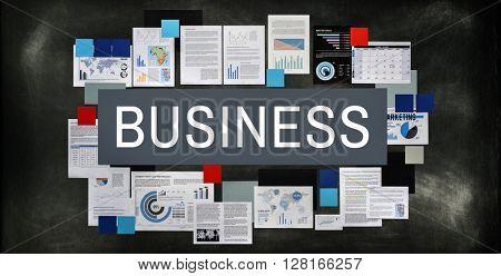 Business Commercial Corporate Enterprise Firm Concept