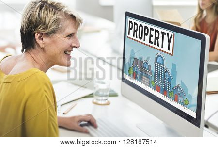 Property Housing Estate Ownership Concept