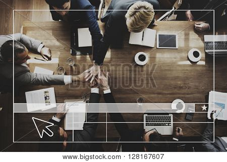Business Team Working Meeting Brainstorming Concept