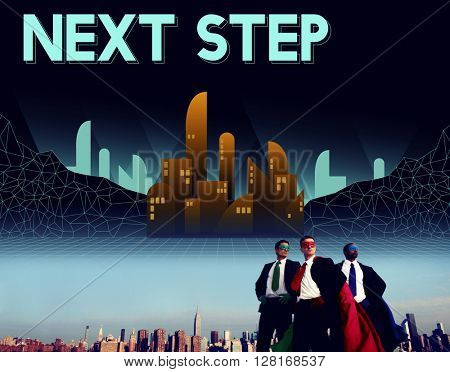 Next Step Future Structure Urban Concept