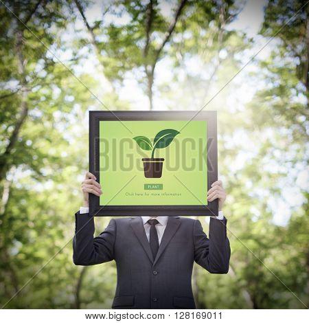 Plant Click Environment Ecosystem Information Concept