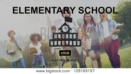 Education School Learning Homepage Concept
