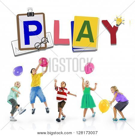 Play Leisure Activity Recreation Entertainment Playing Concept