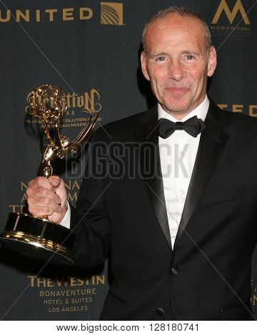 LOS ANGELES - APR 29:  Mark Teschner - Creative Emmy Winner at the 43rd Daytime Emmy Creative Awards at the Westin Bonaventure Hotel  on April 29, 2016 in Los Angeles, CA